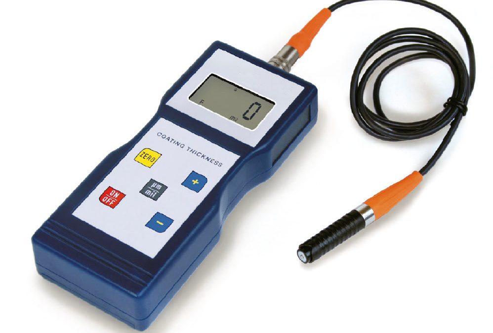 Spessimetro per rivestimenti a ultrasuoni